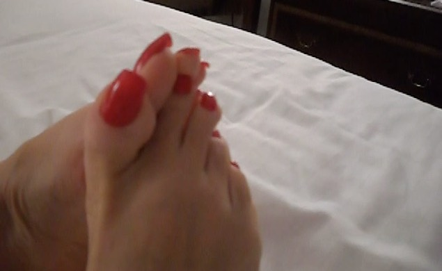 Beautiful Long Toenails