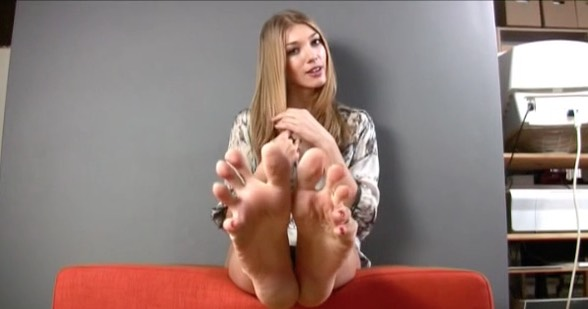 Sexy Soles Tease