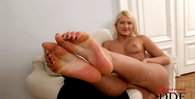 Amateur Blonde Russian Beauty