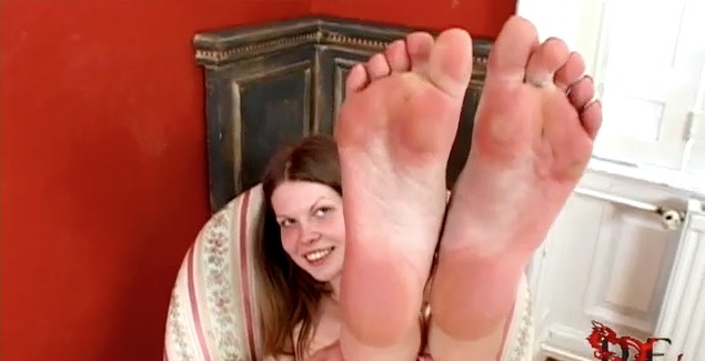 Cute Coed Russian Foot Model