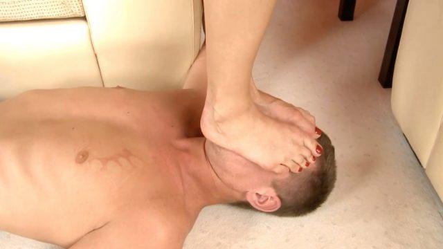 femdom foot trample