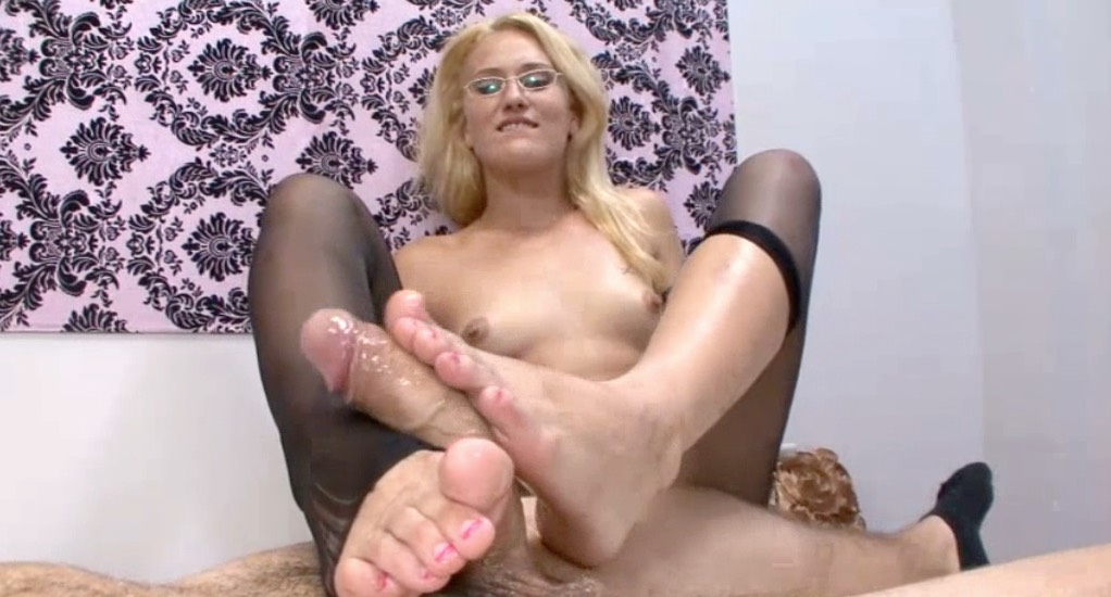 Wet, Sloppy FootJob