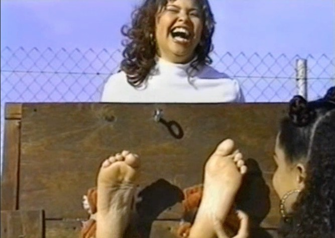 Forced Foot Tickling