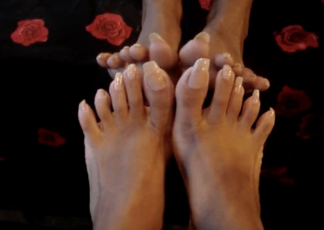 Long Toenails, French Pedicure