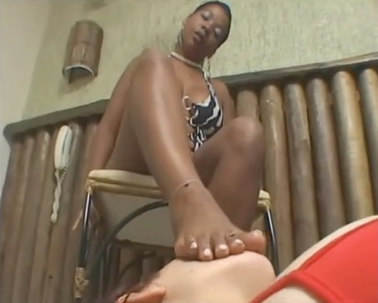 Kidnapped and Forced to Smell Ebony Feet