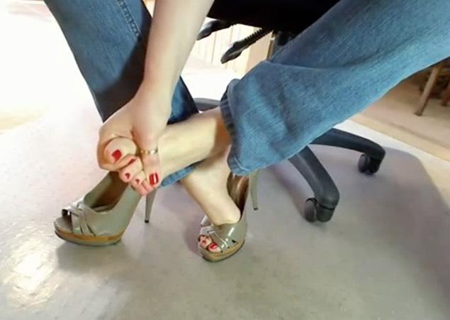 Feet in Heels