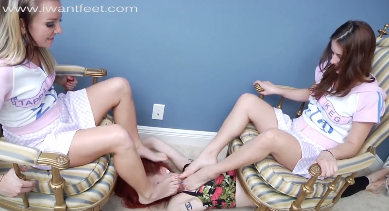 Forced Babe Foot Smelling