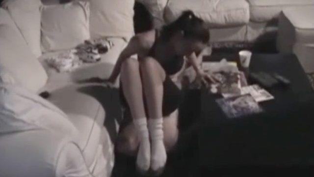 sock fetish play