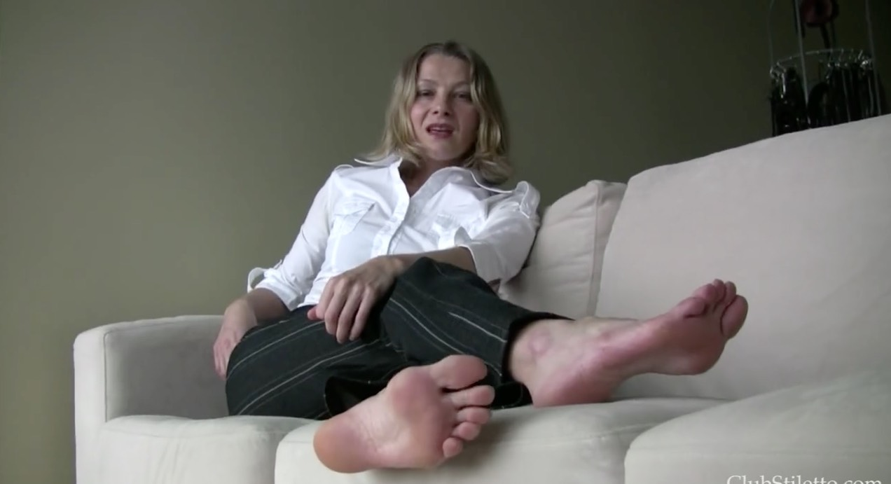 Mature Foot Instruction