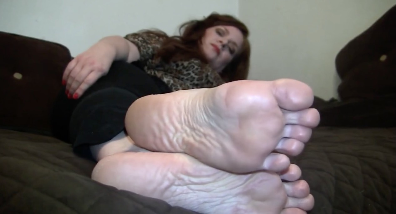 Mature Foot Tease, Silent Film
