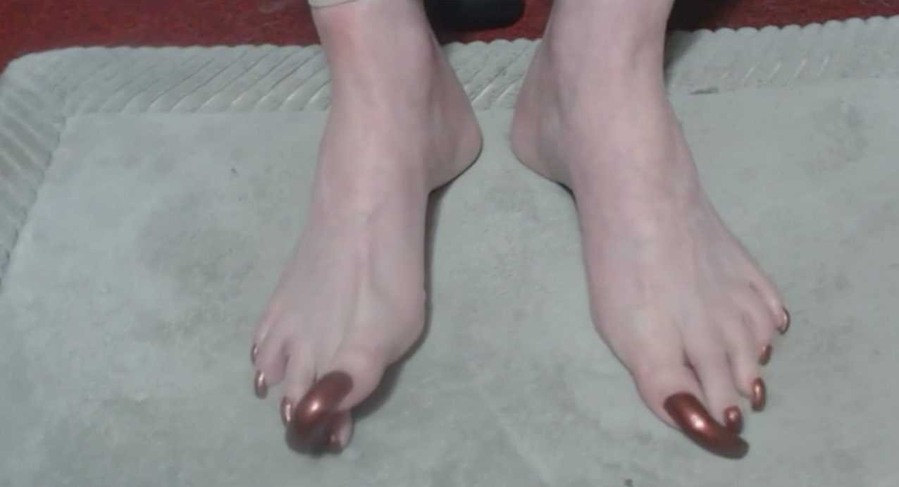 Ridiculously Long Toenails