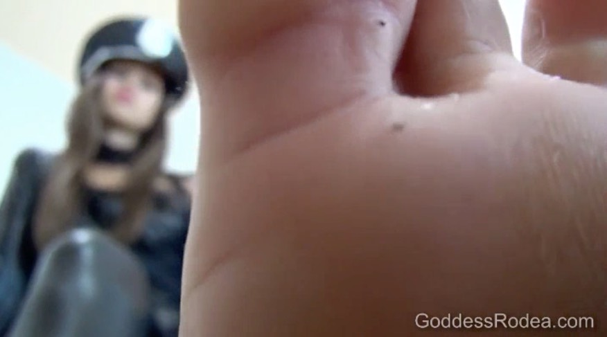 Dominant Foot Tease
