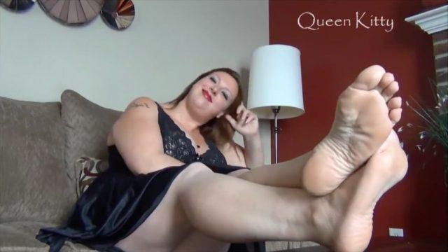 bbw foot slut verbal