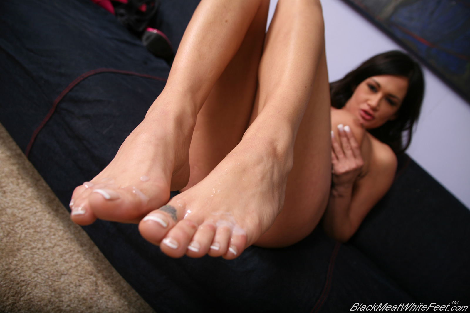 Tory lane footjob that