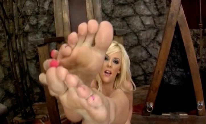 Hot Sweaty Pornstar Feet