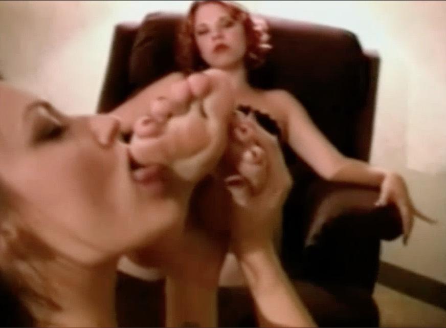 Classic Girl Girl Worship - Foot Fetish Tube-6881
