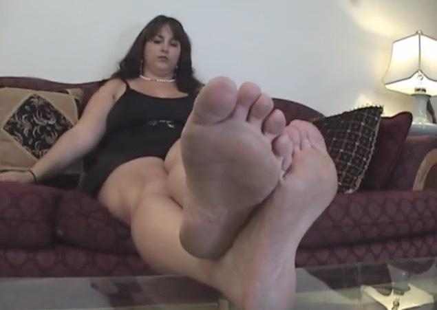 Hot, Sweaty Bbw Feet - Foot Fetish Tube-8876