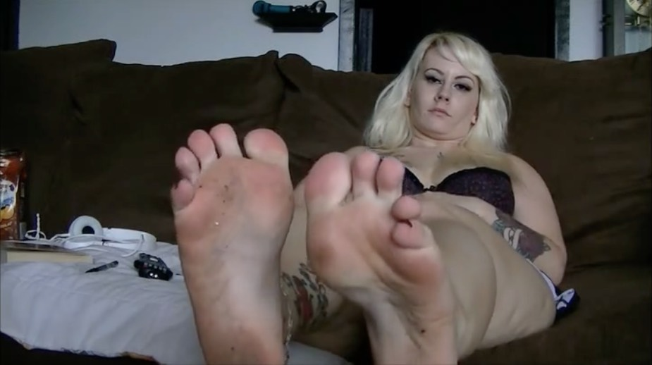 Dirty BBW Feet