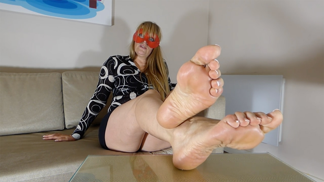 Mature Uk Mistress Verbal - Foot Fetish Tube-4730