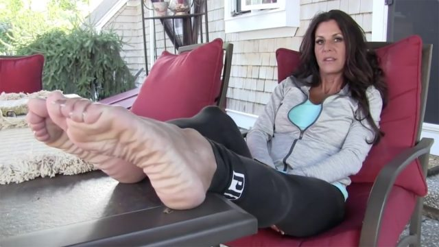 Milf feet tease Milf Sole Tease Foot Fetish Tube