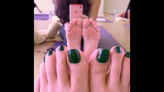 Asian Yoga Feet