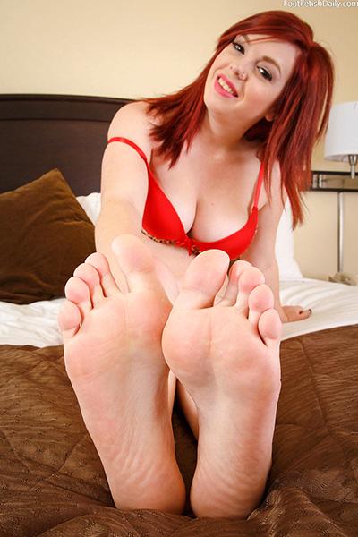Christine Alexis Feet
