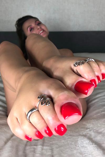 Lena's Perfect Feet