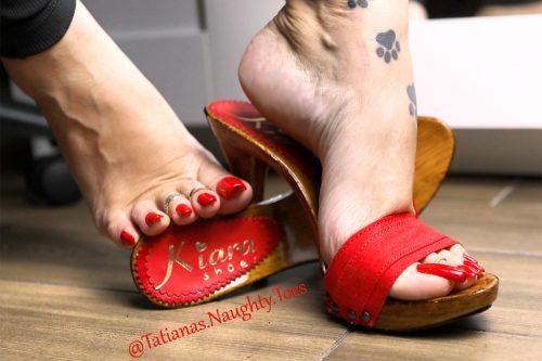 Tatiana's Naughty Toes