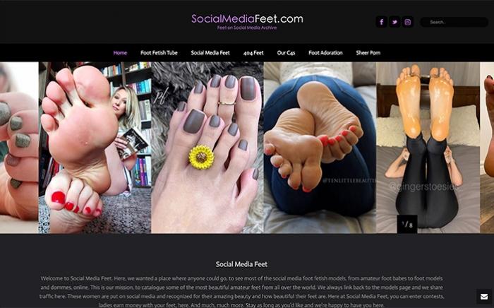 social-media-feet